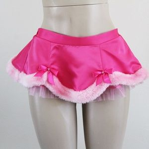 Victoria's Secret Sexy Little Things Santa Skirt